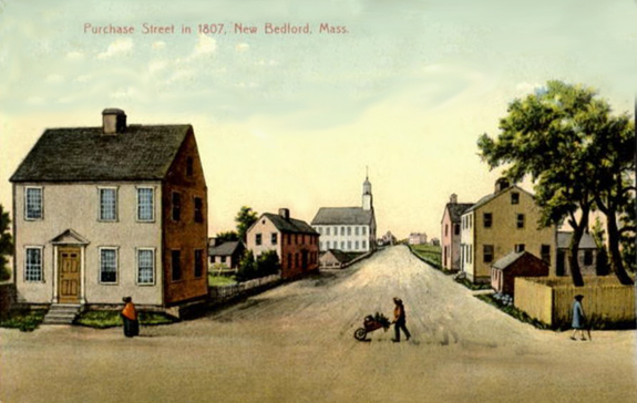 1807 Purchase Street New Bedford - looking  north - www.WhalingCity.net