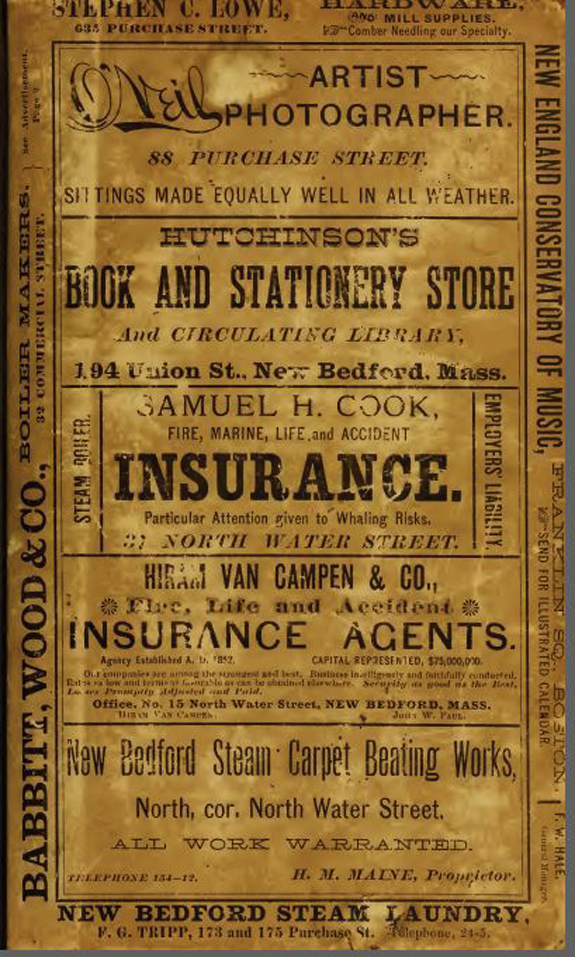 1892 New BEdford city directory - www.WhalingCity.net