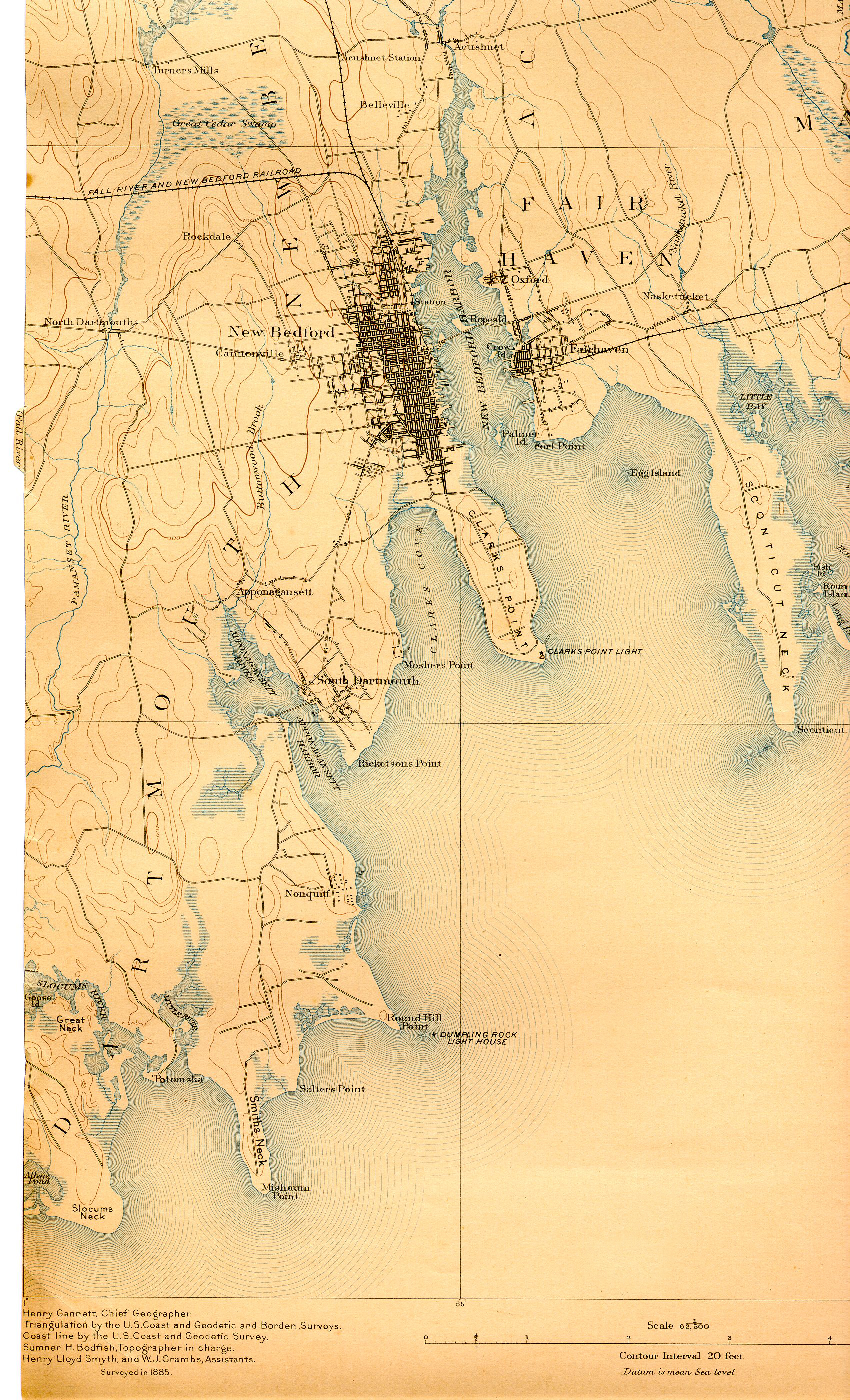 1893 Topographical Map of South Dartmouth and West New ... on old colony map, sarnia map, salcombe map, devon england uk map, wichita st map, ft. mcmurray map, prairie view a&m map, london map, fishguard map, uc riverside map, miami of ohio map, texas a&m kingsville map, hartlepool map, ottery st. mary map, north smithfield map, isle of wight map, dallas baptist map, u wisconsin map, alcorn state map, nova scotia map,