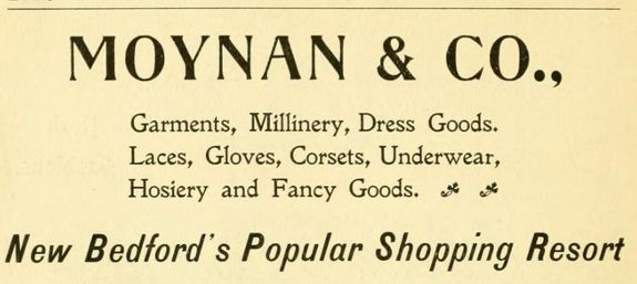 1897 Moyan's & Co. Union and Purchase Streets, New Bedford, Ma. - www.WhalingCity.net