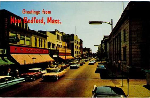 1960's New Bedford, Ma. Woolworth's - www.WhalingCity.net