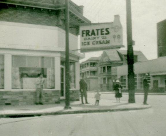Frates Restaurant  - Cove Rd and S. WAter St - New BEdford 1961 - www.WhalingCity.net
