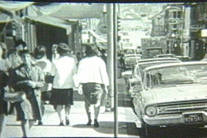 """Whaling City Ford >> Pictures of 1964 Film """"A Rising Tide"""" in New Bedford"""