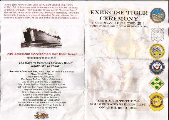 Exercise Tiger pamphlet_1 - www.WhalingCity.net