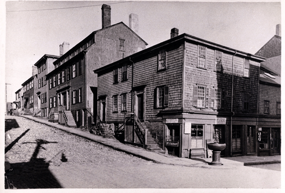 1800's New BEdford - St Helena Restaurant - cafe - Union and Bethel St. - www.WhalingCity.net