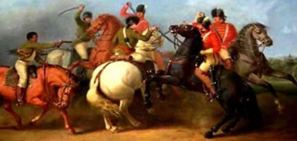 British fighters Revolutionary war - www.WhalingCity.net