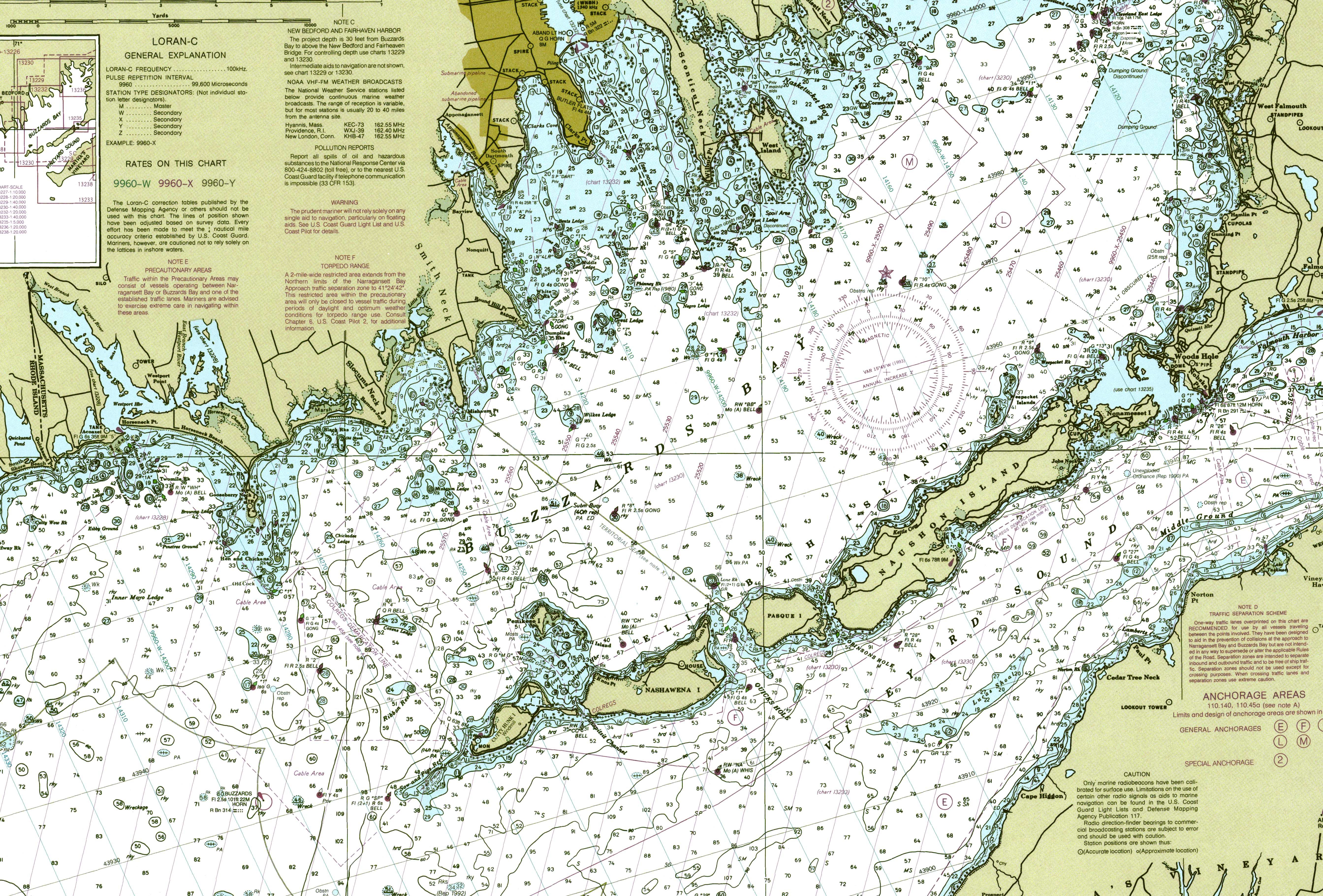 The Nautical Charts Shows Depths And Objects Aids To Navigation As Well Place Names For Nearby Land Mes Navigational Are Shown