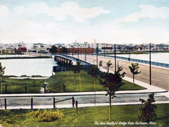 New bedford - Fairhaven Bridge - www.WhalingCity.net