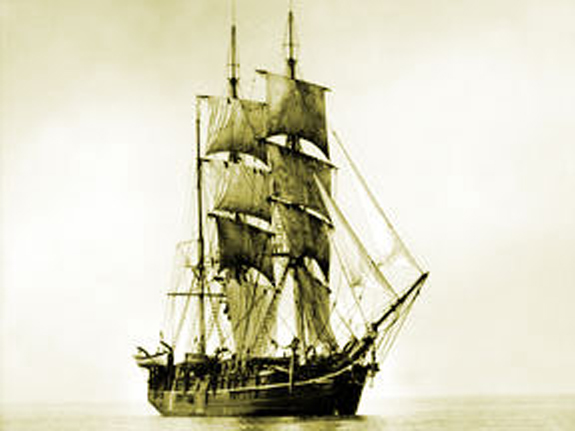 Bleak Whaling Ship from New BEdford early 1800's - www.WhalingCity.com